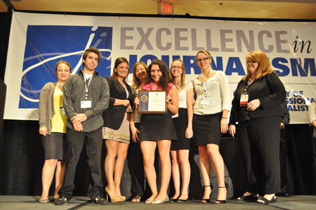 SPJ DePaul Awards Photo
