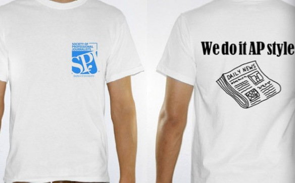 SPJ DePaul T-shirts