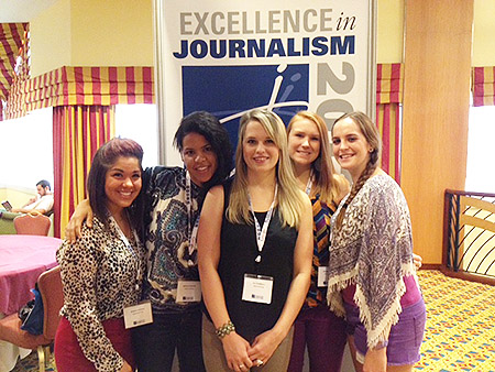 SPJ DePaul Exec Board Photo