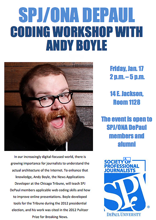 Andy Boyle Event