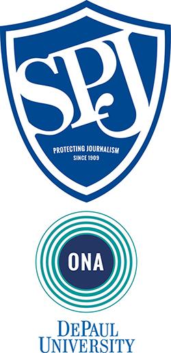 SPJ ONA DePaul Logo